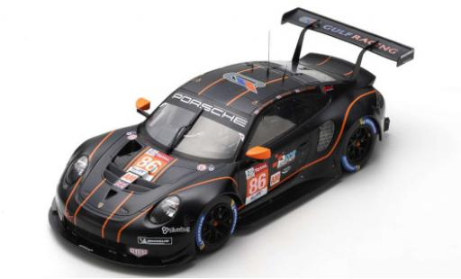 Porsche 992 RSR 1/18 Spark 911 (991) No.86 Gulf Racing Wynns 24h Le Mans 2020 B.Barker/M.Wainwright/A.Watson miniature