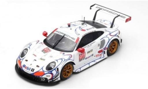 Porsche 991 RSR 1/12 Spark 911  No.911 GT Team Petit Le Mans 2018 P.Pilet/N.Tandy/F.Makowiecki diecast model cars