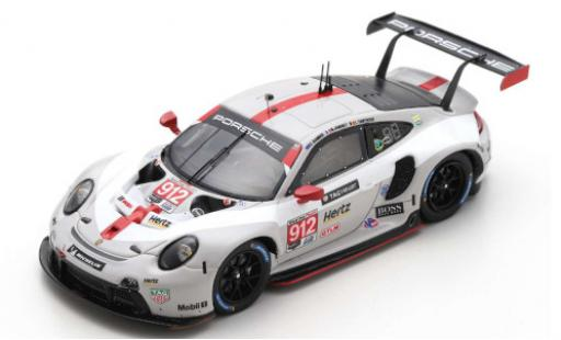 Porsche 992 RSR 1/43 Spark 911 (991) No.912 GT Team 24h Daytona 2020 E.Bamber/M.Jaminet/L.Vanthoor miniature