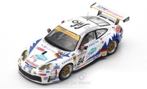 Porsche 996 GT3 RS 1/43 Spark 911  No.84 T2M Motorsport 24h Le Mans 2003 P.Bourdais/R.Berville/V.Ickx diecast model cars