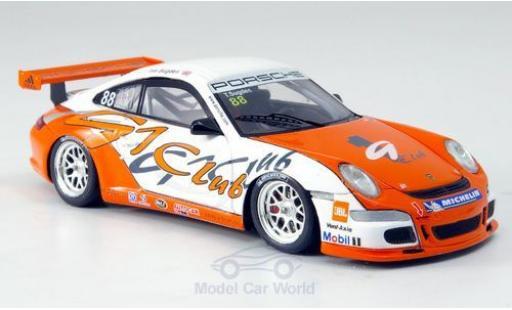 Porsche 997 GT2 1/43 Spark 911  Cup No.88 Cup Asien 2007 modellino in miniatura