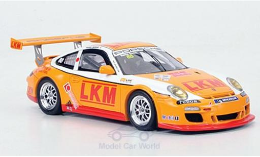 Porsche 997 GT3 CUP 1/43 Spark 911  GT3 Cup No.88 LKM Carrera Cup Asia 2011 diecast model cars