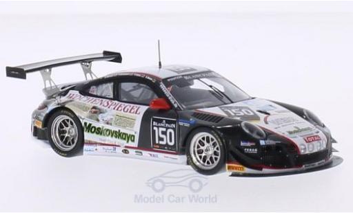 Porsche 997 SC 1/43 Spark (997) GT3 R No.150 24h Spa 2014 G.Weiss/O.Kainz/J.Krumbach/C.Menzel miniature