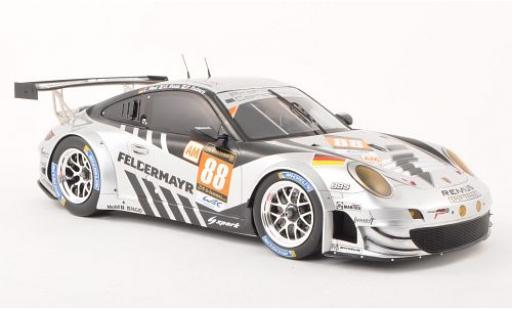Porsche 991 RSR 1/18 Spark 911 (997) GT3 No.88 Prossoon Competition 24h Le Mans 2013 capos et les portes fermé C.Ried/G.Roda/P.Ruberti modellino in miniatura