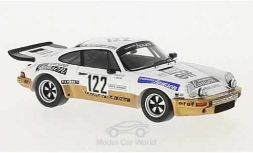 Porsche 911 1/43 Spark Carrera RS No.122 Almeras Lanson Tour Auto 1977 mit Decals M.Mouton/F.Conconi diecast