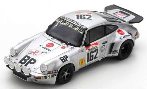 Porsche 930 RSR 1/43 Spark 911 Carrera 3.0 No.162 BP Tour de France Auto 1977 A-C.Verney/D.Emmanuelli diecast model cars