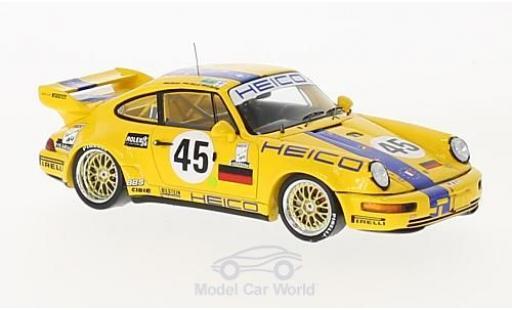 Porsche 964 SC 1/43 Spark Carrera R No.45 Heico 24h Le Mans 1994 K-H.Wlazik/D.Ebeling/U.Richter miniature