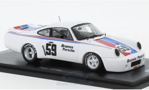 Porsche 911 1/43 Spark Carrera RSR No.59 100 Miles MID-Ohio 1975 P.Gregg miniature