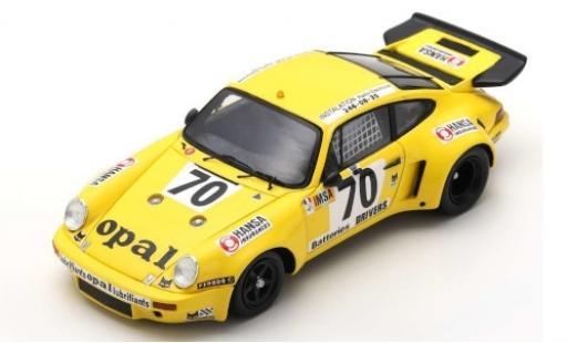 Porsche 930 RSR 1/43 Spark 911 Carrera No.70 24h Le Mans 1977 S.de Lautour/J.P.Delaunay/J.Guerin miniature