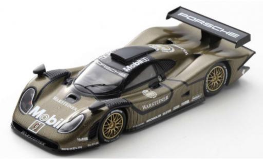 Porsche 996 GT1 1/43 Spark 911 /98 RHD AG Warsteiner 1998 v�hicule de test miniature