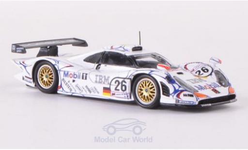 Porsche 996 GT1 1/87 Spark 911 No.26 24h Le Mans 1998 A.McNish/L.Aiello/S.Ortelli diecast model cars