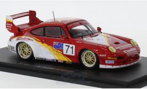 Porsche 993 GT2 1/43 Spark 911  No.71 24h Le Mans 1996 R.Nearn/B.Farmer/G.Murphy modellino in miniatura