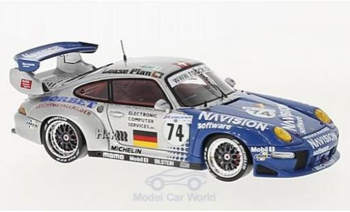 Porsche 996 GT2 1/43 Spark 911 No.74 24h Le Mans 1997 A.Ahrle/B.Eichmann/A.Pilgrim diecast model cars