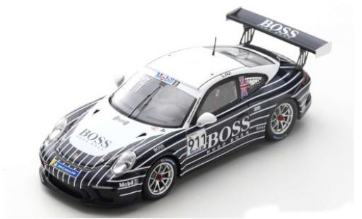 Porsche 992 GT3 1/43 Spark 911 Cup (991 II) No.911 Dr. Ing h. c. F. AG Boss Supercup Silverstone 2019 C.Hoy diecast model cars