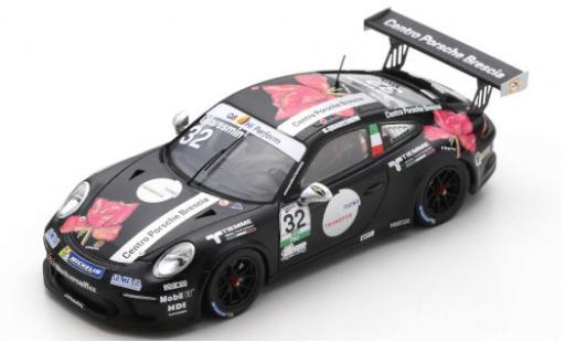 Porsche 991 GT3 Cup 1/43 Spark 911  No.32 Centro Brescia Carrera Cup Italia 2018 G.Quaresmini miniature