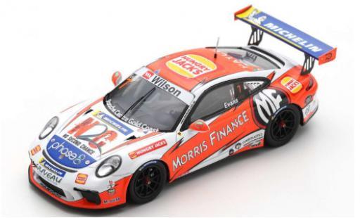 Porsche 991 GT3 Cup 1/43 Spark 911  No.7 Carrera Cup Australia 2018 J.Evans miniature