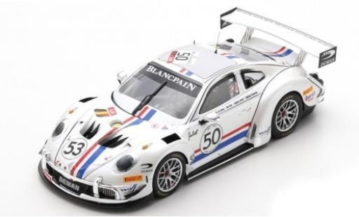 Porsche 992 GT3 1/18 Spark 911 Cup MR No.50 24h Spa 2019 1969 Tribute L.Deman/S.Lemeret/M.Duez/A.Detavernier miniature
