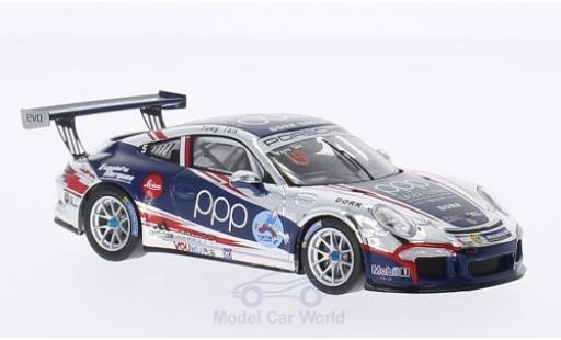 Porsche 991 GT3 Cup 1/43 Spark 911 No.5 PCCA 2014 Y.Tan Y.Tan diecast model cars
