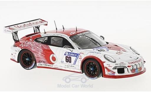 Porsche 991 SC 1/43 Spark GT3 Cup No.60 Gigaspeed Team GetSpeed Performance 24h Nürburgring 2017 A.Osieka/Max/Jens/D.Trebing miniature