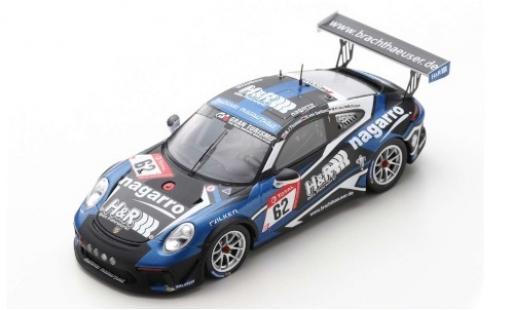 Porsche 992 GT3 1/43 Spark 911 Cup No.62 Mühlner Motorsport H&R 24h Nürburgring 2019 M.J.Thomas/S.von Gartzen/M.Kranz/M.Hoppe diecast model cars
