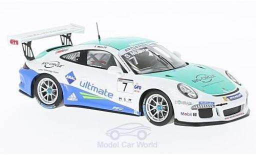 Porsche 991 SC 1/43 Spark GT3 Cup No.7 Carrera Cup Deutschland 2016 S.Müller miniature