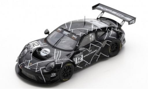 Porsche 992 GT3 R 1/43 Spark 911 (991.2) No.12 GPX Racing Training Paul Ricard 2019 The Diamond diecast model cars