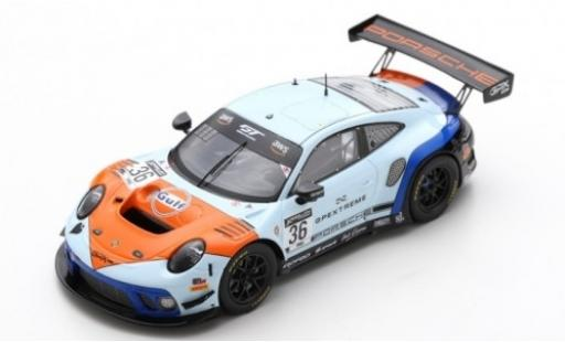 Porsche 992 GT3 R 1/43 Spark 911 (991.2) No.36 GPX Racing Gulf 2019 The Spade miniature
