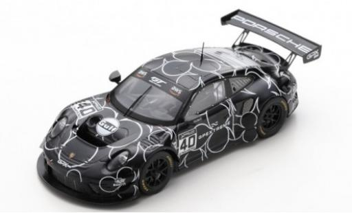 Porsche 992 GT3 R 1/43 Spark 911 (991.2) No.40 GPX Racing GT World Challenge Europe Training Paul Ricard 2019 The Club miniature
