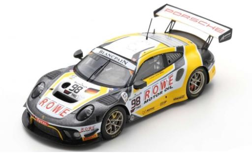 Porsche 992 GT3 R 1/43 Spark 911 (991) No.98 ROWE Racing 24h Spa 2019 S.Müller/R.Dumas/M.Jaminet diecast model cars