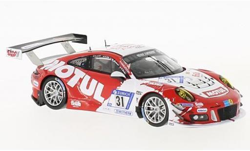 Porsche 991 GT3 R 1/43 Spark 911 GT3-R No.31 Frikadelli Racing Team 24h Nürburgring 2017 M.Christensen/K.Bachler/N.Siedler/L.Luhr modellautos