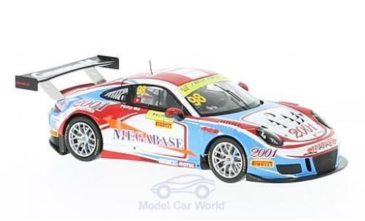 Porsche 991 GT3 R 1/43 Spark 911 No.98 GruppeM Racing Macau GT Cup 2016 Philip.Ma miniature