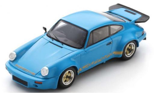 Porsche 930 RS 1/43 Spark 911 3.0 blue/Dekor RHD 1974 No.9114609092 diecast model cars