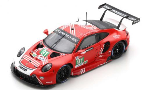 Porsche 992 RSR 1/43 Spark 911 -19 No.91 GT Team 24h Le Mans 2020 G.Bruni/R.Lietz/F.Makowiecki miniature
