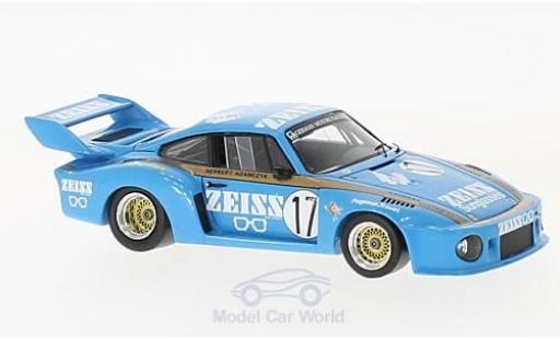 Porsche 930 SC 1/43 Spark R No.17 German Motors Racing Zeiss Macau Guia Race 1979 H.Adamczyk miniature