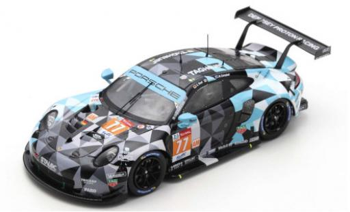 Porsche 992 RSR 1/43 Spark 911 No.77 Dempsey-Predon Racing 24h Le Mans 2020 M.Campbell/R.Pera/C.Ried diecast model cars