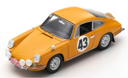 Porsche 911 1/43 Spark S No.43 Rallye Monte Carlo 1967 A.Aarnio Wihuri/L.Laakso diecast model cars