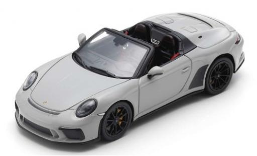 Porsche 992 Speedster 1/43 Spark 911 grey 2019 diecast model cars