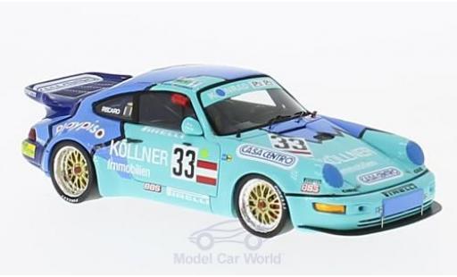 Porsche 964 Turbo 1/43 Spark Turbo No.33 24h Le Mans 1994 B.Netzeband/F.Konrad/A.De Azevedo Hermann miniature