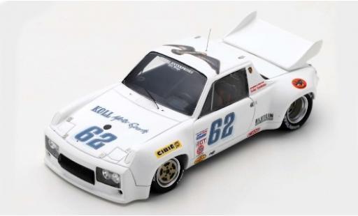 Porsche 914 1/43 Spark /6 No.62 24h Daytona 1980 B.Koll/J.Cook/G.LaCava miniature
