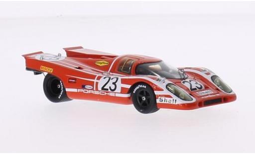 Porsche 917 1970 1/43 Spark K No.23 KG Salzburg S 24h Le Mans H.Herrmann/R.Attwood diecast model cars