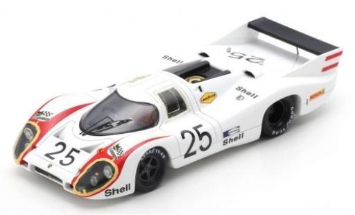 Porsche 917 1970 1/43 Spark LH RHD No.25 KG Salzburg 24h Le Mans V.Elford/K.Ahrens diecast model cars