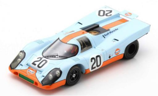 Porsche 917 1970 1/18 Spark K No.20 John Wyer Automotive Engineering Gulf 24h Le Mans B.Redman/J.Siffert diecast model cars