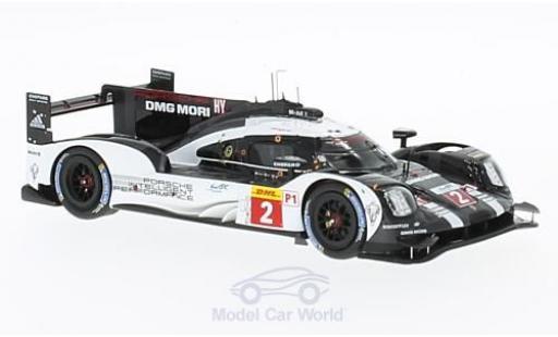 Porsche 919 2016 1/43 Spark Hybrid HY No.2 Team WEC 6h Bahrain R.Dumas/N.Jani/M.Lieb miniature