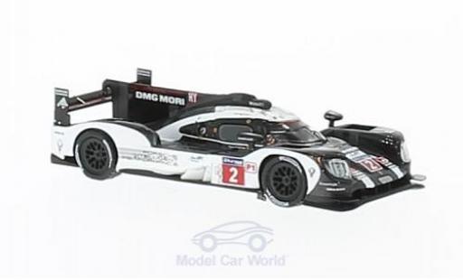 Porsche 919 2016 1/87 Spark Hybrid No.2 Team 24h Le Mans R.Dumas/N.Jani/M.Lieb miniature