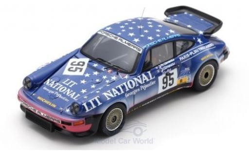 Porsche 930 1/43 Spark No.95 24h Le Mans 1983 J.Almeras/J-M.Almeras/J.Guillot miniature