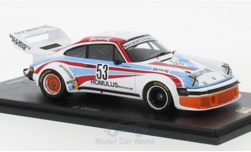 Porsche 934 1/43 Spark No.53 Max Moritz Valvoline DRM Zolder 1977 E.Dören miniature