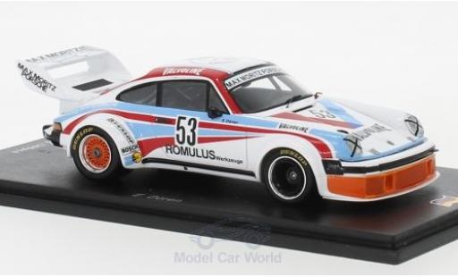 Porsche 934 1977 1/43 Spark No.53 Max Moritz Valvoline DRM Zolder E.Dören diecast model cars