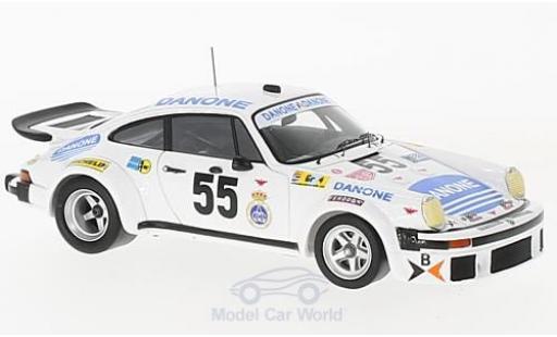 Porsche 934 1/43 Spark No.55 Danone 24h Le Mans 1977 J.Fernandez/E.Baturone/R.Tarradas miniature
