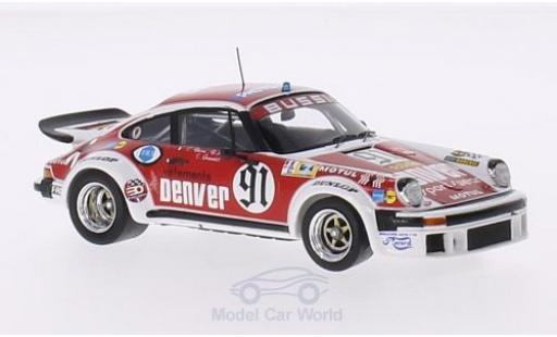 Porsche 934 1/43 Spark No.91 Denver 24h Le Mans 1980 C.Bussi/B.Salam/C.Grandet miniature
