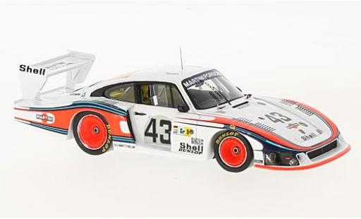 Porsche 935 1/43 Spark /78 No.43 Martini 24h Le Mans 1978 Moby Gros R.Stommelen/M.Schurti modellautos